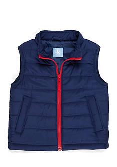 J. Khaki Puffer Vest Boys 4-7