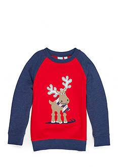 J. Khaki Applique Sweatshirt Boys 4-7