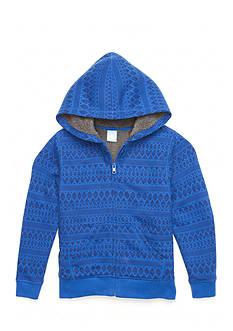 J. Khaki Sherpa Hoodie Boys 4-7