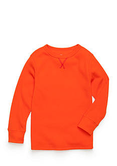 J. Khaki Solid Thermal Shirt Boys 4-7