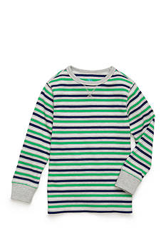 J. Khaki® Stripe Thermal Shirt Boys 4-7