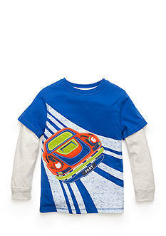 J. Khaki Novelty Crew Tee Boys 4-7