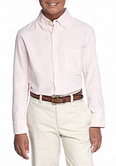 J. Khaki® Stripe Oxford Shirt Boys 8-20