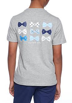 J. Khaki Short Sleeve Novelty Crew Shirt Boys 8-20