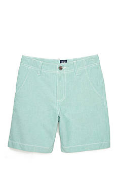 J. Khaki® Oxford Flat Front Short Boys 8-20