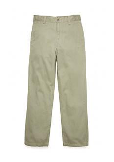 J Khaki™ Twill Flat Front Pants Boys 8-20