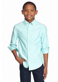 J Khaki™ Long Sleeve Oxford Shirt Boys 8-20
