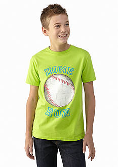 J Khaki™ Short Sleeve Novelty Crew Neck Tee Boys 8-20