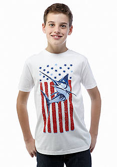 J Khaki™ Short Sleeve Novelty Crew Neckline Tee Boys 8-20