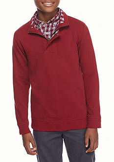 J. Khaki Pullover Jacket Boys 8-20