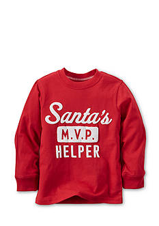 Carter's® Printed 'Santa's MVP Helper' Tee Boys 4-7