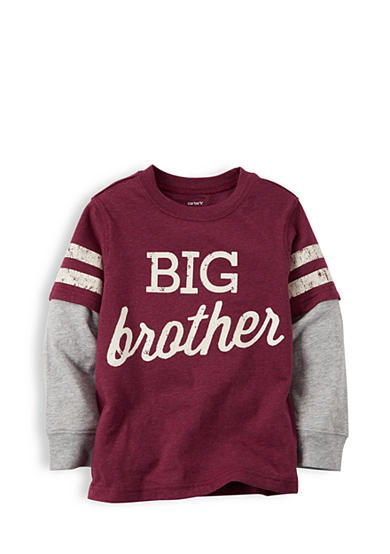 Carter's® Printed 'Big Brother' 2Fer Tee Boys 4-7