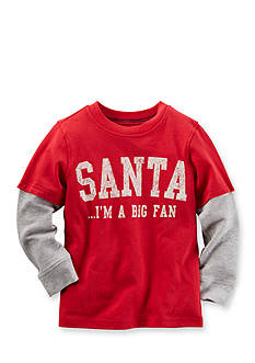 Carter's Long-Sleeve Layered-Look Graphic Tee Boys 4-7