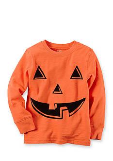 Carter's Boys 4-7 Long Sleeve Orange Pumpkin Tee