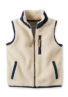 Carter's Sherpa Ivory Vest Boys 4-7