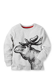 Carter's Long-Sleeve Moose Graphic Tee Boys 4-7