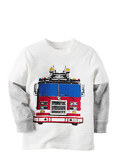 Carter's® Firetruck Graphic Tee Boys 4-7