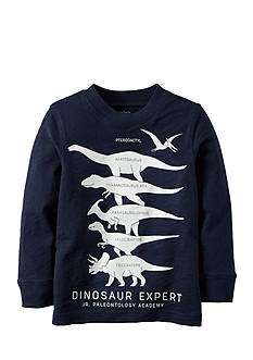 Carter's Glow-In-The-Dark Dino Expert Tee Boys 4-7