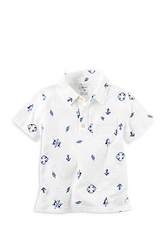 Carter's Printed Jersey Polo Boys 4-7