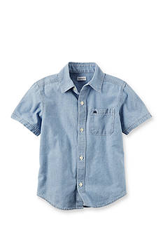 Carter's Chambray Button-Front Shirt Boys 4-7