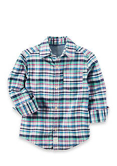 Carter's Plaid Oxford Button-Front Shirt Boys 4-7