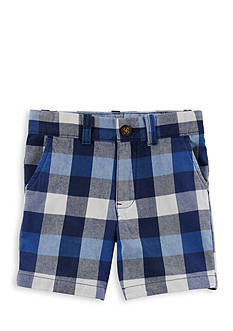 Carter's Plaid Flat-Front Shorts Boys 4-7