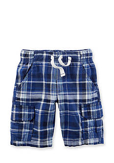 Carter's® Pull-On Plaid Shorts Boys 4-7