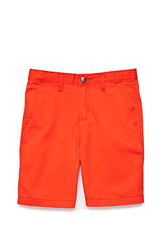 J. Khaki Red Shorts Boys 4-7