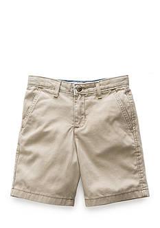 J. Khaki Flat-Front Short Boys 4-7