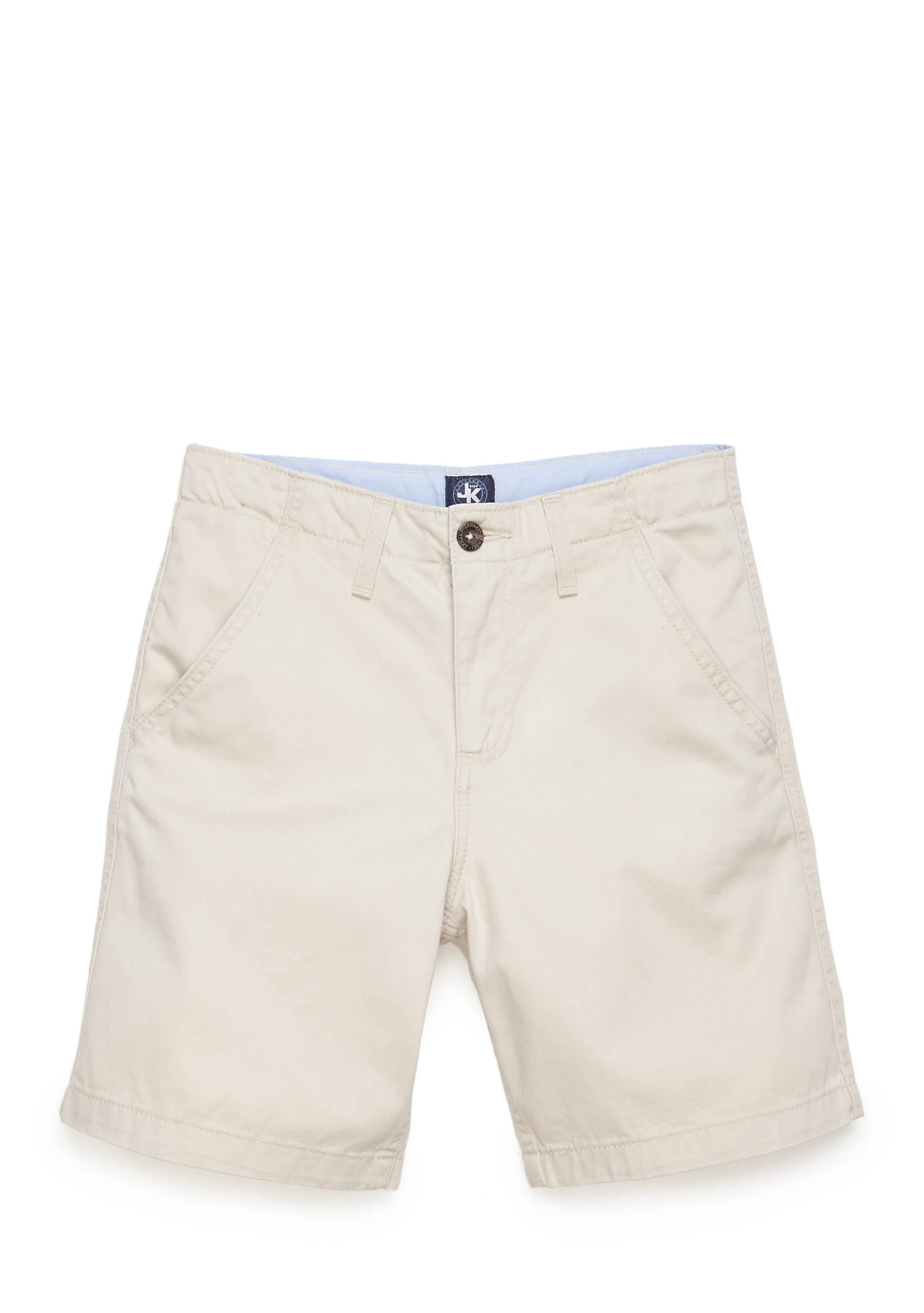 J. Khaki® Flat Front Shorts Boys 8-20 | belk