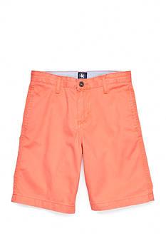 J. Khaki Flat Front Shorts Boys 8-20