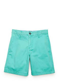 J. Khaki Twill Shorts Boys 8-20