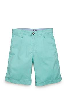 J. Khaki Flat-Front Twill Short Boys 8-20