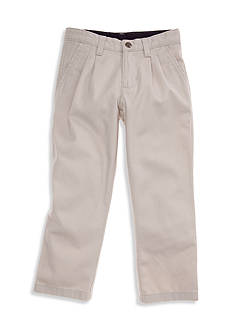 J Khaki™ Pleated Twill Pant Boys 4-7