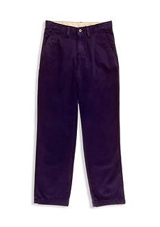 J Khaki™ Flat Front Twill Pants Boys 8-20