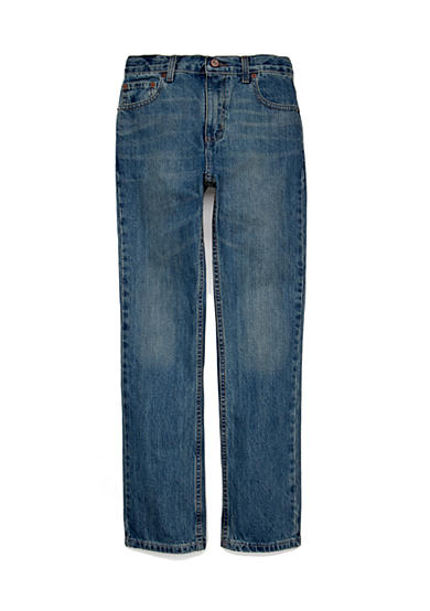 JK Indigo Slim Straight Chopper Jeans Boys 8-20