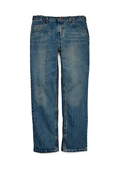 JK Indigo Husky Straight Chopper Jeans Boys 8-20