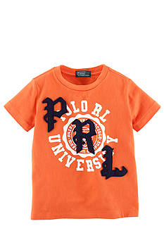 Ralph Lauren Childrenswear Collegiate Themed Graphic Tee Boys 4-7