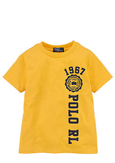 Ralph Lauren Childrenswear Signature Graphic Tee Boys 4-7