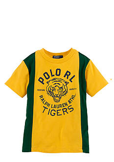 Ralph Lauren Childrenswear Vintage Varsity Tee Boys 4-7
