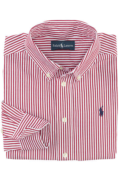 Ralph Lauren Childrenswear Striped Blake Sport Shirt Boys 4-7