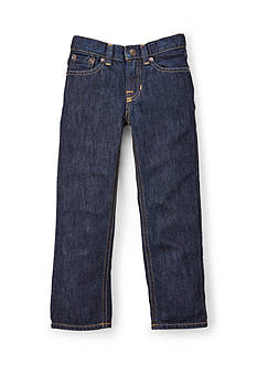 Ralph Lauren Childrenswear Dark Wash Slim Fit Jeans Boys 4-7