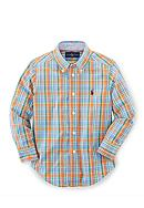 Ralph Lauren Childrenswear Plaid Oxford Shirt