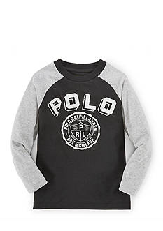 Ralph Lauren Childrenswear Long Sleeve Baseball Tee Boys 4-7
