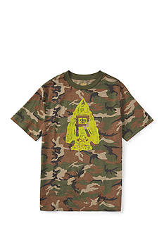 Ralph Lauren Childrenswear Camo Graphic Tee Boys 4-7