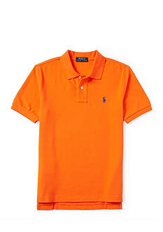 Ralph Lauren Childrenswear Basic Mesh Shirt Sleeve Boys 4-7