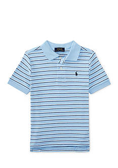 Ralph Lauren Childrenswear Interlock Short Sleeve Boys 4-7
