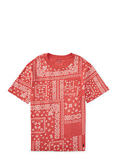 Ralph Lauren Childrenswear Jersey Bandana Tee Boys 4-7