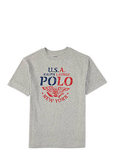 Ralph Lauren Childrenswear Graphic Tee Boys 4-7