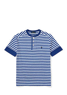 Ralph Lauren Childrenswear Henley Tee Boys 4-7
